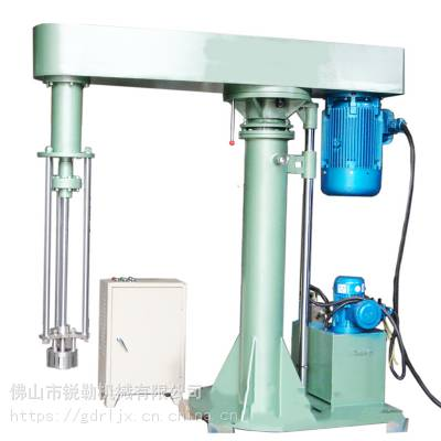 水性油墨乳化升降分散机 化妆品均值高速乳化搅拌机