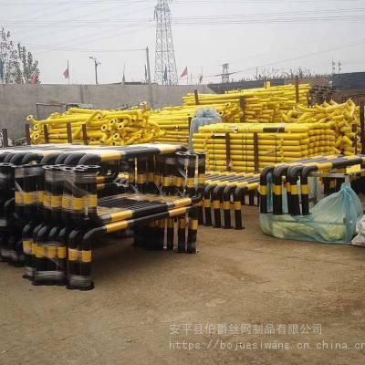 型号1:U型护栏(挡车杆、分道栏) U型护栏的规格:1米,1.5米,2米等等 类型:护栏