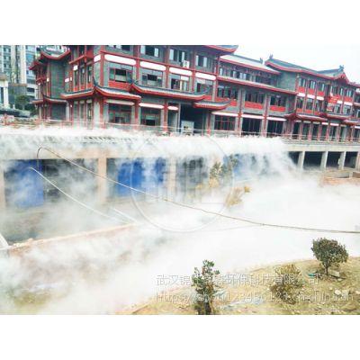 人造雾效锦胜雾森系统-市政工程水雾除尘设备-工地喷雾除尘厂家