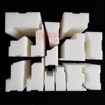 订做高密度聚乙烯左侧模块 聚氨酯夹芯板生产线超高分子量聚乙烯侧封块厂家