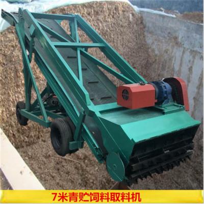 农用秸秆取料机 防止发酵的取草机 青储料抓草机