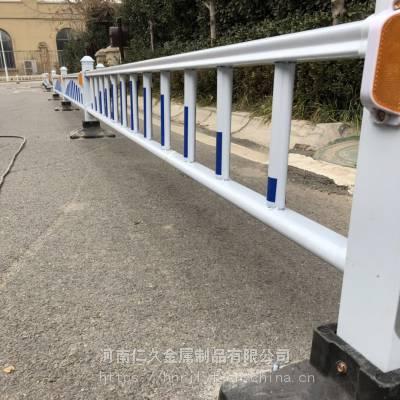 河南鹤壁【市政道路护栏】厂家直供优质马路中间隔离栏M形京式道路护栏
