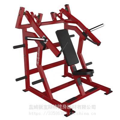 超上斜推胸悍马挂片力量商用健身器械