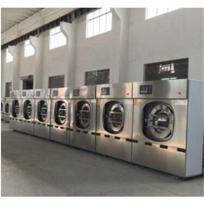 山西工业洗衣机,全自动工业洗涤设备,100kg海杰洗脱两用机