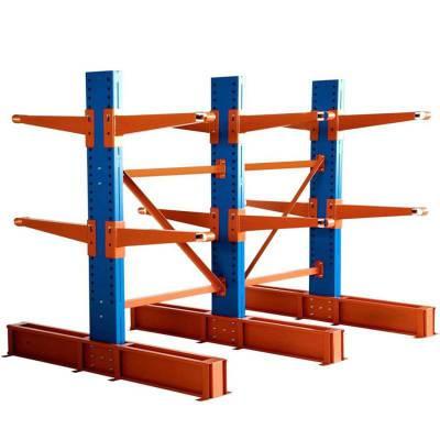 四层单臂1吨/层固联悬臂重型货架/高位立体仓库货架,可定制