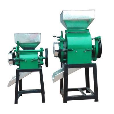 对辊式玉米破碎机热销小麦大豆压扁机电动豆扁机