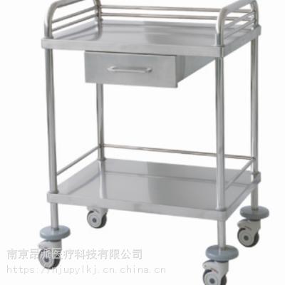 南京昂派 304不锈钢治疗车 输液治疗车