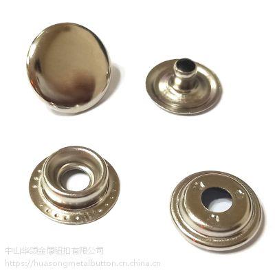 高品质金属钮扣 铁质四合扣