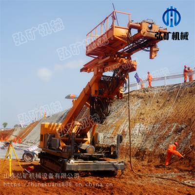 弘矿气动隧道锚杆钻机/能升高9米 10米 15米锚固钻机