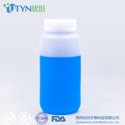 HDPE广口塑料试剂瓶 500ml 耐酸碱 耐低温 化工用 厂家直销