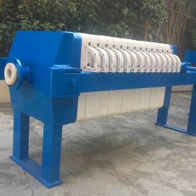 供应 自动厢式压滤机 机械压紧压滤机 耐腐蚀 耐酸碱