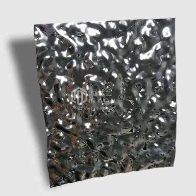 小水波纹不锈钢装饰板多少钱一平方?201/304不锈钢彩色装饰板厂家