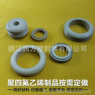 聚四氟乙烯PTFE零部件加工制作应用:单吸泵,双吸泵;电动泵配件