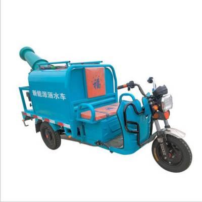 工地用电动洒水车 新能源绿化喷洒车 道路两边绿植洒水雾炮车