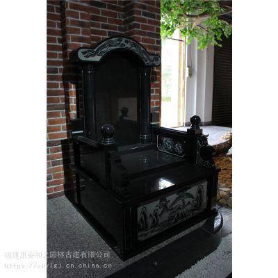 贵州铜仁石雕工艺品店墓碑 工厂出售 多样款式新颖公墓 可定制
