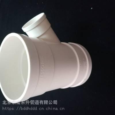 唐山PVC-U给水管upvc下水管厂