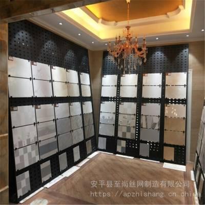 展架冲孔板 陶瓷货架 冲孔板展示架生产厂家