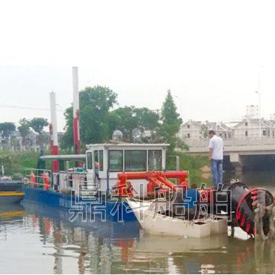 小型挖泥船哪家好 挖泥船品牌 鼎科 全自动挖泥船