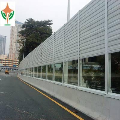 公路声屏障直销、道路吸声隔音屏、加筋亚克力板常规厚度