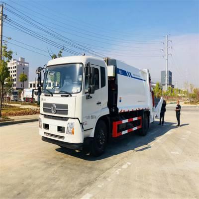 12方国六压缩垃圾车厂家 销售全新东风原厂压缩车