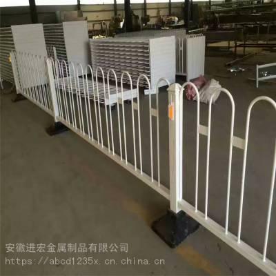 安徽亳州供应市政道路护栏 小区门口广告板隔离栏 公路绿化隔离京式护栏
