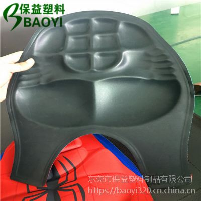 厂家直销EVA热压成型,EVA泡棉冷压成型肌肉服