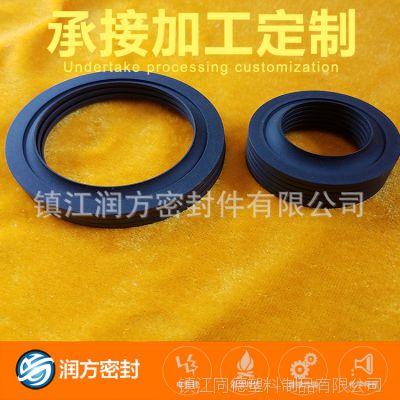 聚四氟乙烯PTFE填充碳纤维耐磨O性轴承环:用于高端染整设备配件
