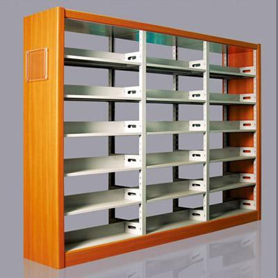 图书架厂家 图书馆书架期刊架阅览桌椅定制 大型厂家