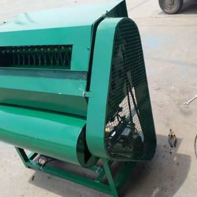 青豆荚采摘机 鲜毛豆采摘机器 豌豆青豆收获采摘机