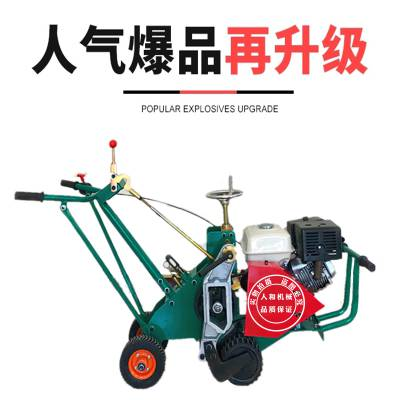 手推汽油草坪起草机 自动汽油起草皮机 马尼拉草坪铲草机 13马力本田高效草皮移植机