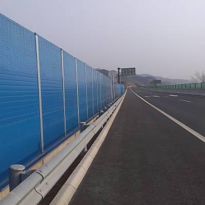 生产销售500*2000*80mm镀锌板百叶孔绿色静电粉末喷涂高速路隔声屏障