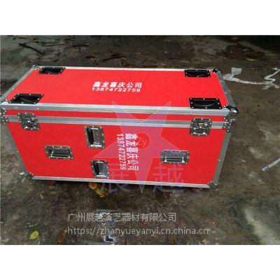 展越厂家直销音响航空箱 机柜 双15寸 单15寸 带小门 带轮子航空箱