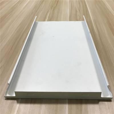 过道定制白色铝条板 面宽200防风铝条扣