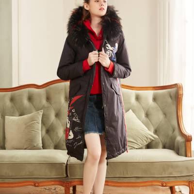 湖南品牌折扣女装一手货源便宜渠道 上海知名品牌女装羽绒服宝莱国际批发走份 品牌折扣女装批发市场