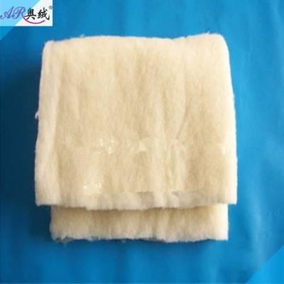 工装专用羊毛喷胶棉 羊毛无胶棉 羊毛水洗棉 含羊毛热熔棉生产厂家