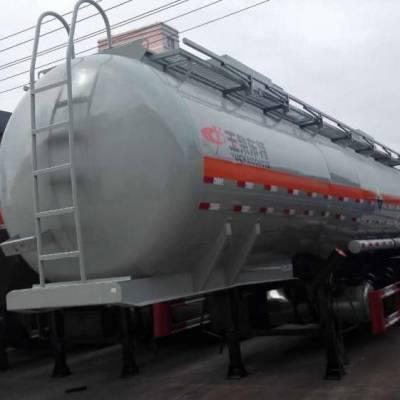 特运牌DTA9405GFWB型腐蚀性物品罐式运输半挂车尺寸 腐蚀品液体运输车