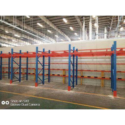 重庆重型固联横梁货架,型号1800X600X1500一层梁,承载1000kg/层,仓库车间物流货架