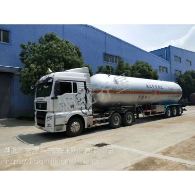 LPG运输车液化石油气槽车齐星生产价格