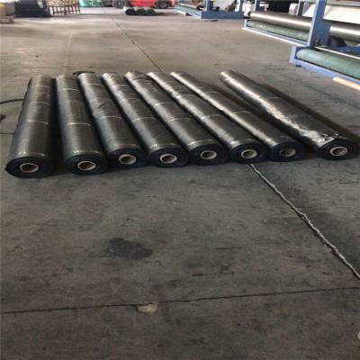 4米宽防草布在山西猕猴桃园的铺盖法