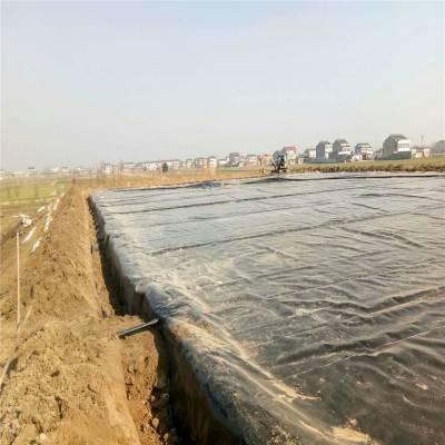 阻根防渗膜在安徽人工湖防水的焊接方法