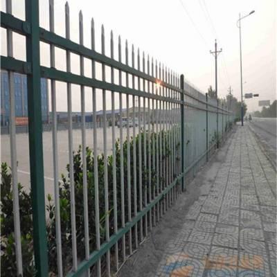 新乡卫辉锌钢护栏厂家批发喷塑小区锌钢护栏别墅围墙栅栏厂区围栏护栏定做