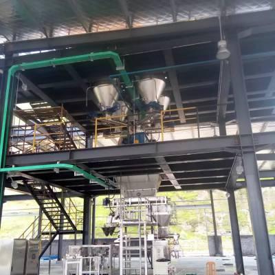 云南昆明粉剂大量元素水溶肥全自动生产线设备