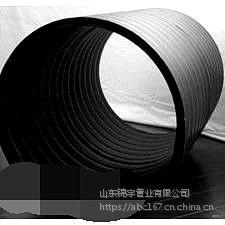 PE双平壁排水管300-1800mm厂家直销挤塑承插式一体