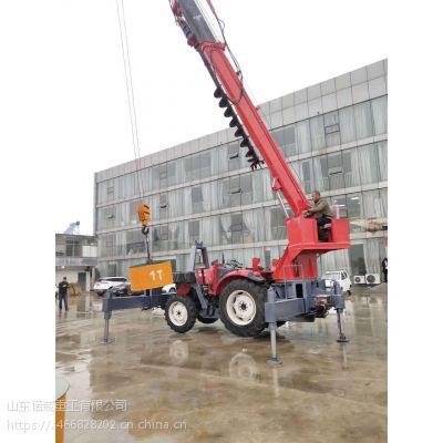 供应拖拉机吊车专业定制改装 产家自制 来图加工
