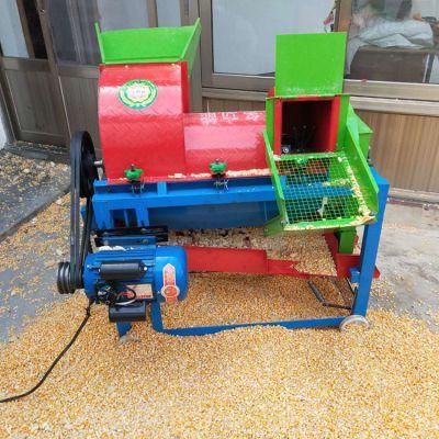 小型家用多功能玉米脱粒机 高粱谷子黄豆脱粒机打谷机