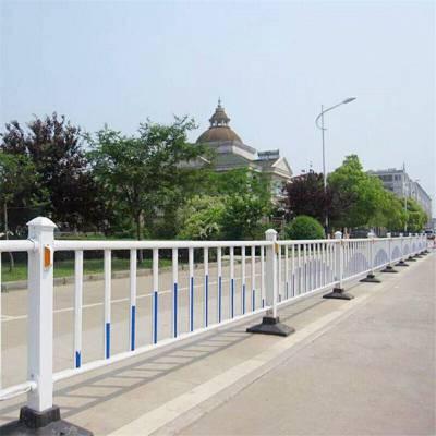 河南护栏厂平顶山鲁山供应广告板市政护栏 喷塑市政交通道路护栏