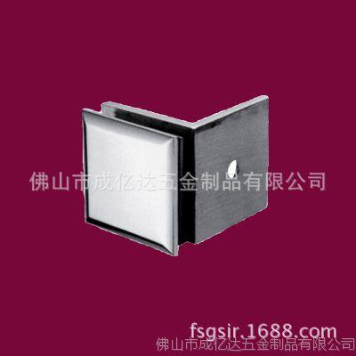 精铸304不锈钢固定夹淋浴房卫生间玻璃门铰链浴室夹不锈钢玻璃夹