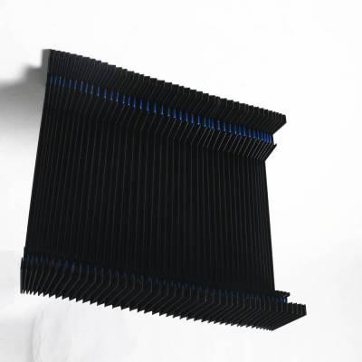 广纳4080龙门铣床导轨柔性风琴式防护罩直销