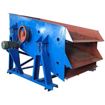 柏立松热销沙石分离机 型号SZZ1500*3000 多层振动筛机沙子筛分机