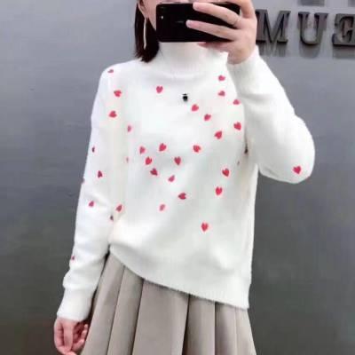 动物园服装批发市场江南布衣高端女羽绒服品牌走份批发